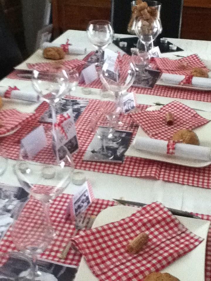 Le Blog Pour Mes Copines D 233 Coration Table Bistrot