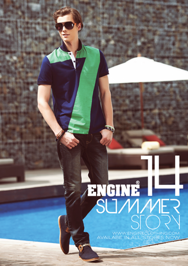 Engine Pakistan spring summer collection 2014