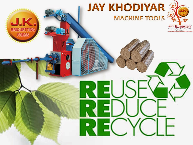 Biomass, Briquetting Machies, Briquetting Press, Briquetting Plant