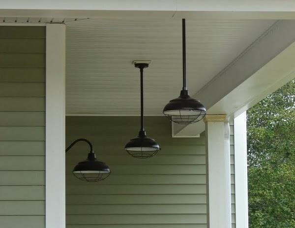 l mparas para porches y terrazas guia de jardin On lampara para porche exterior