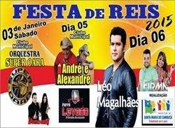 FESTA DE REIS - PROGRAMAÇÃO COMPLETA