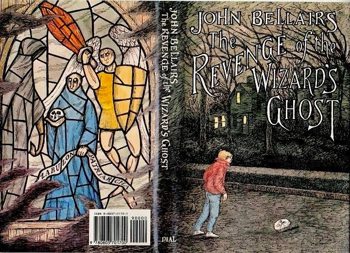 The Revenge of the Wizard's Ghost by John Bellairs with artwork by Edward Gorey