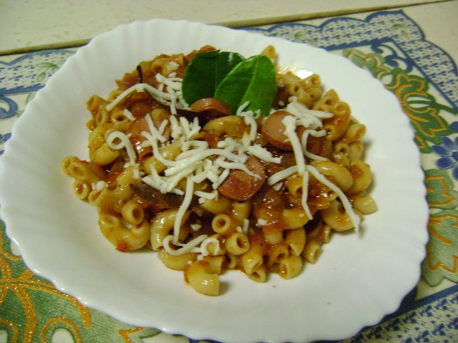 Bethica 39 S Kitchen Flavours Pasta In Tomato Sauce Italian Cuisine