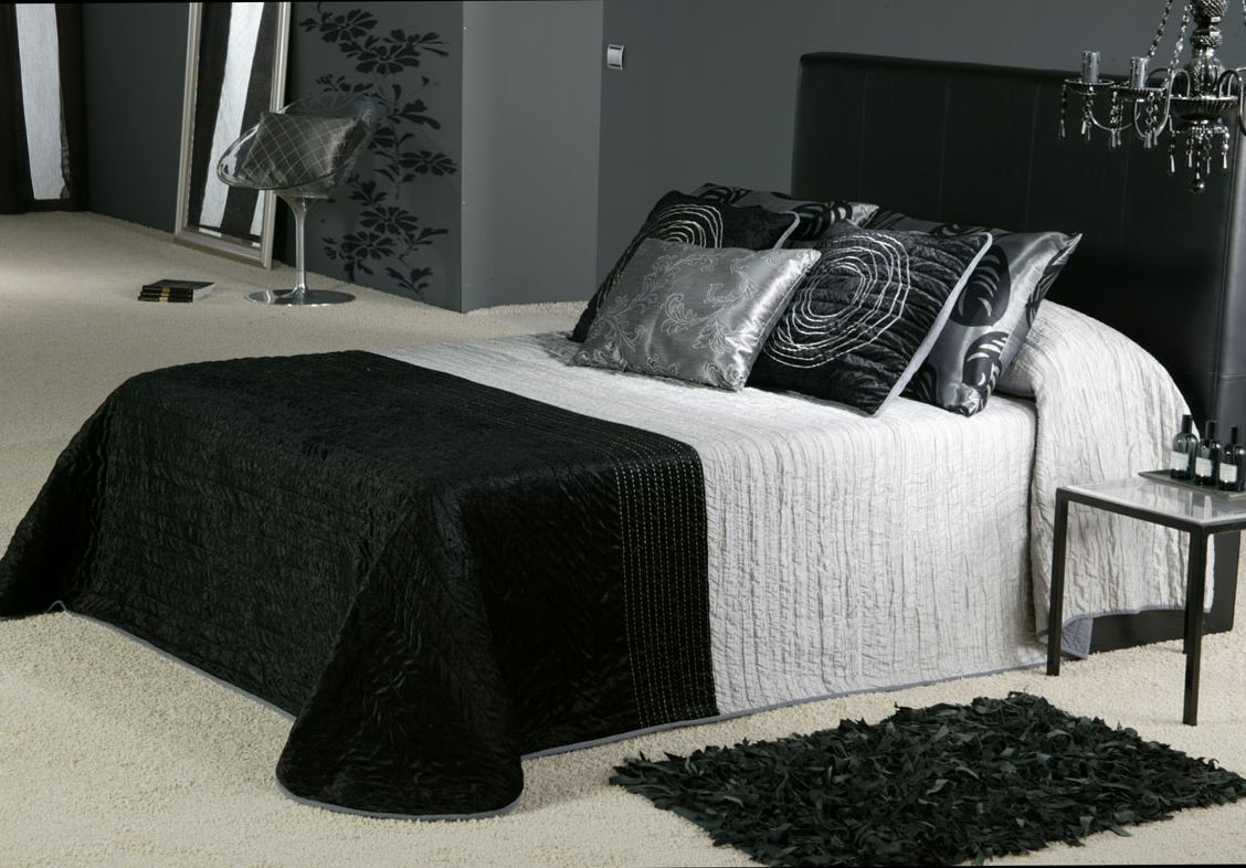 Modern house 09 23 11 for Black and gray bedroom designs