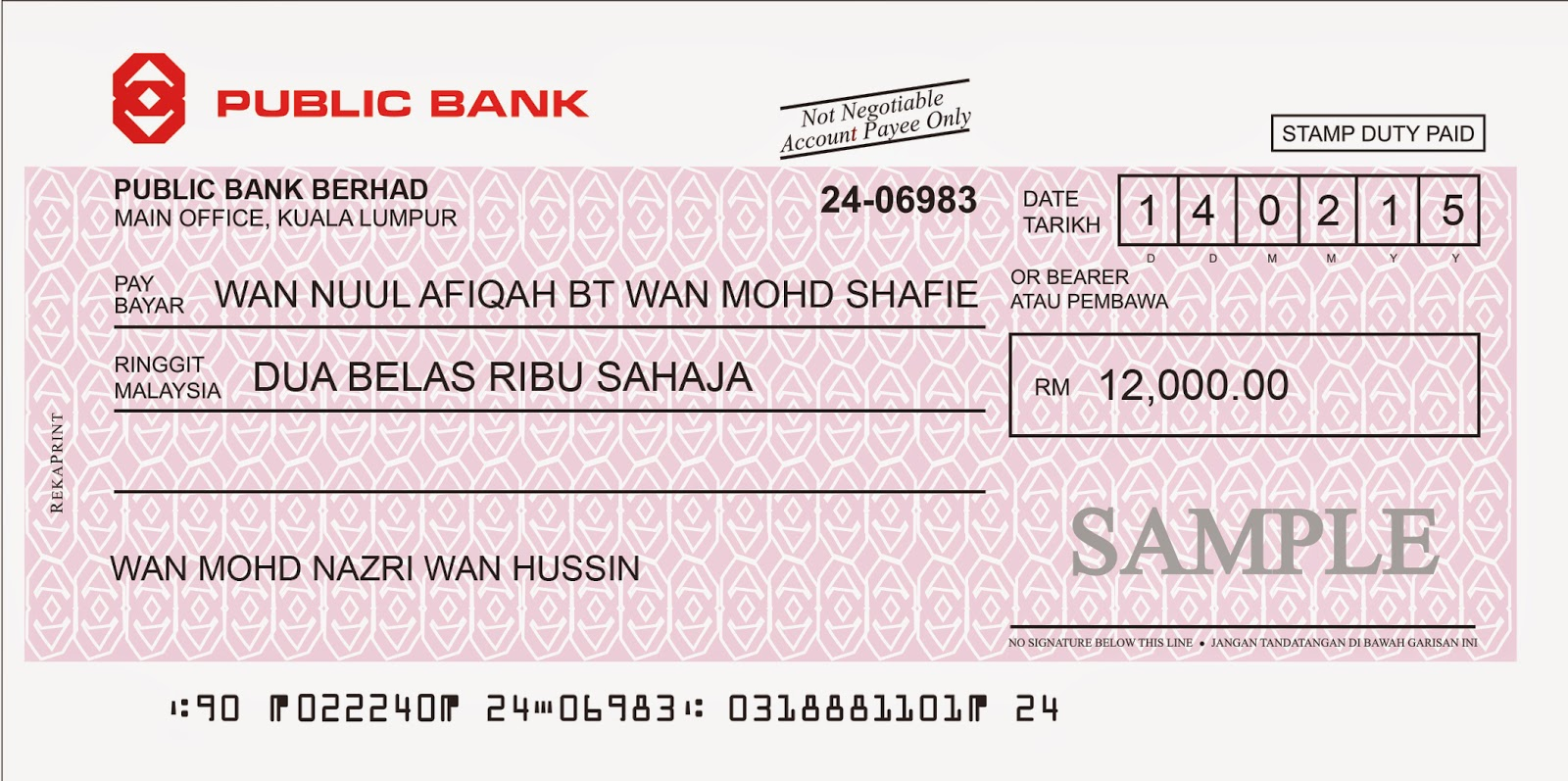how to write a cash cheque westpac