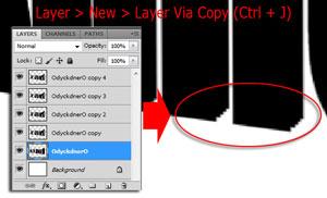 Membuat Tulisan Efek 3D di Photoshop
