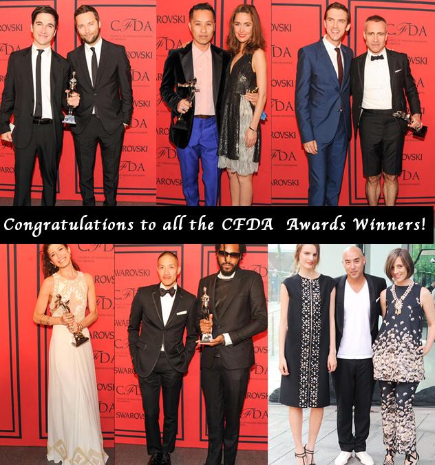 The CFDA 2013 Awards Winners