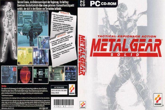 Metal Gear Solid (Full ISO) (Español) (MG)