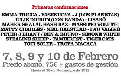 Tanned Tin 2013 Nuevas confirmaciones Jota Los Planetas