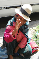 It is better to give than to receive - the poor of Cochabamba, Bolivia