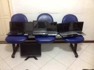Policia prende fugitivo em Amargosa e recupera notebooks roubados