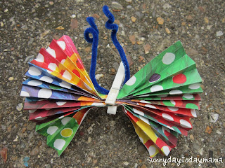 The Very Hungry Caterpillar project and caterpillar/butterfly links