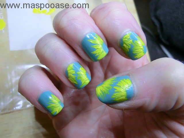Sunflower Nailart Tutorial