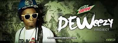 fotos promocionales de deweezy lil wayne mountain dew trukfit