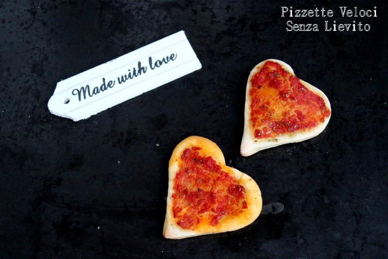 pizzette veloci senza lievito