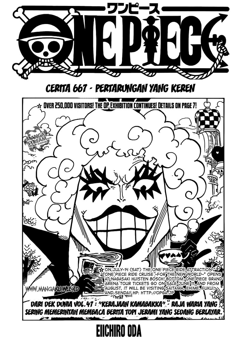 DDownload Komik One Piece 667 Bahasa Indonesia