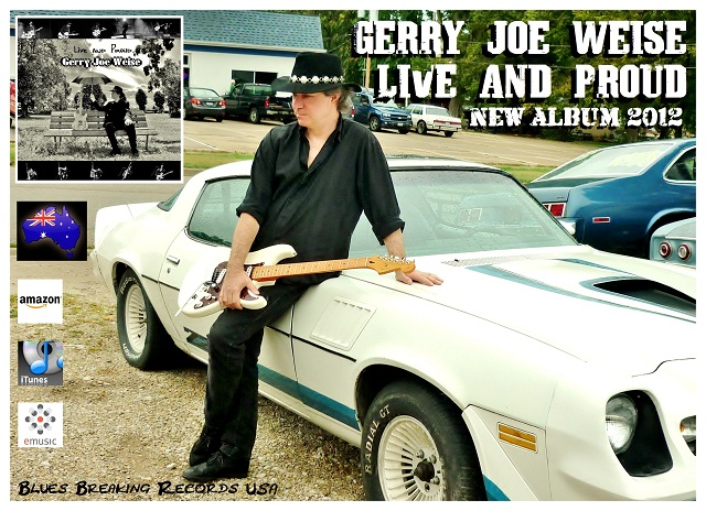 Live And Proud, Blues Breaking Records Chicago USA, Gerry Joe Weise