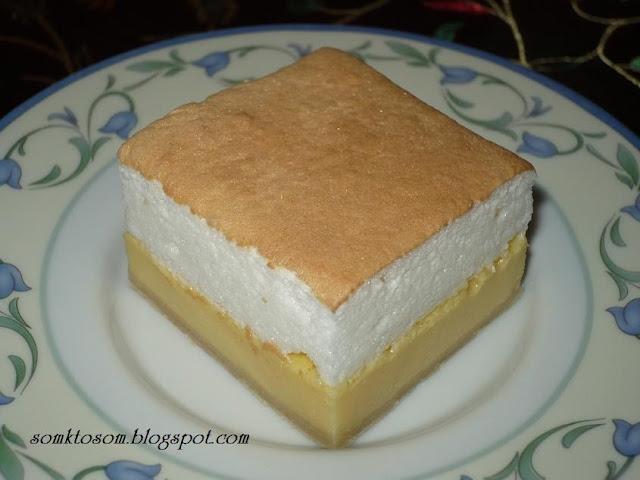Tvarohový koláč - krémeš
