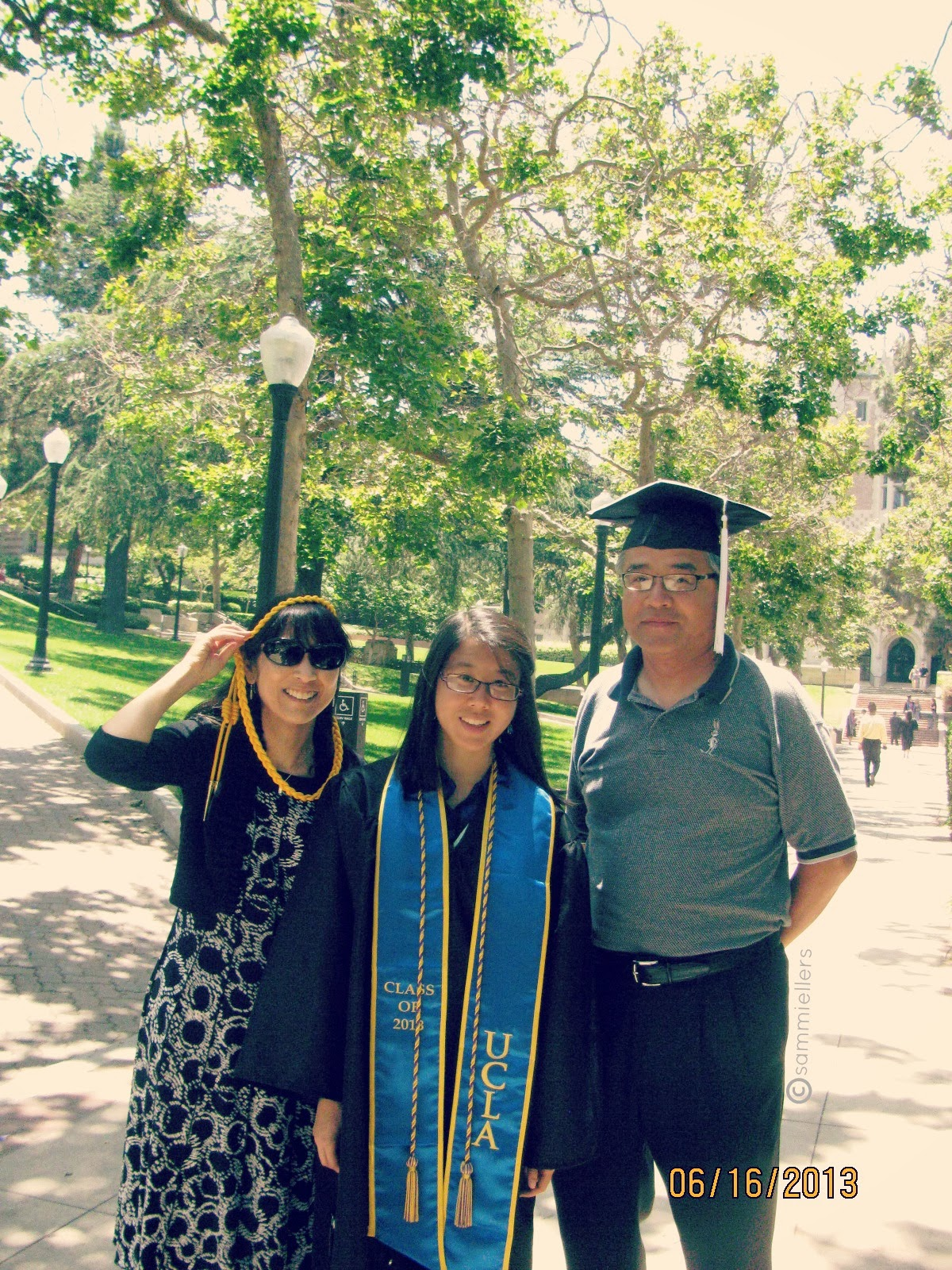 UCLA 2013 Graduation with the Proud Parentals