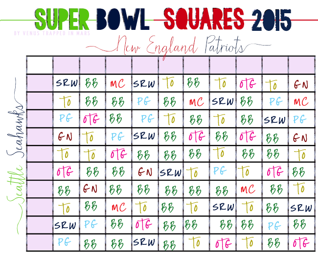 Super bowl 2015 squares autos post for Super bowl 2015 squares template