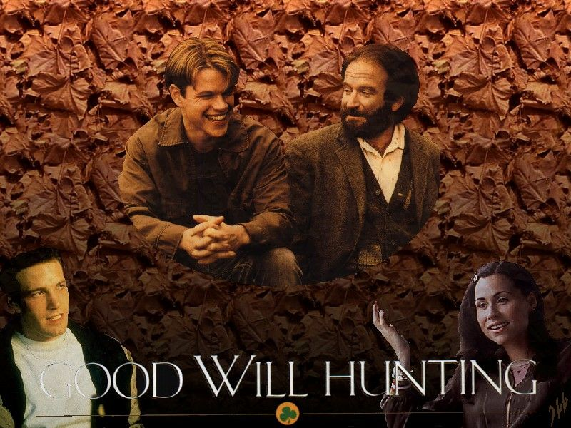 the reactive attachment disorder of will in good will hunting a movie by gus van sant