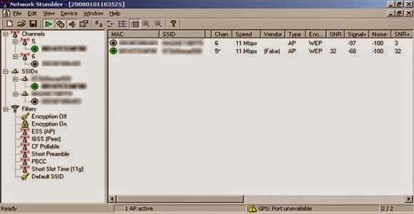 برنامج Net Stumbler