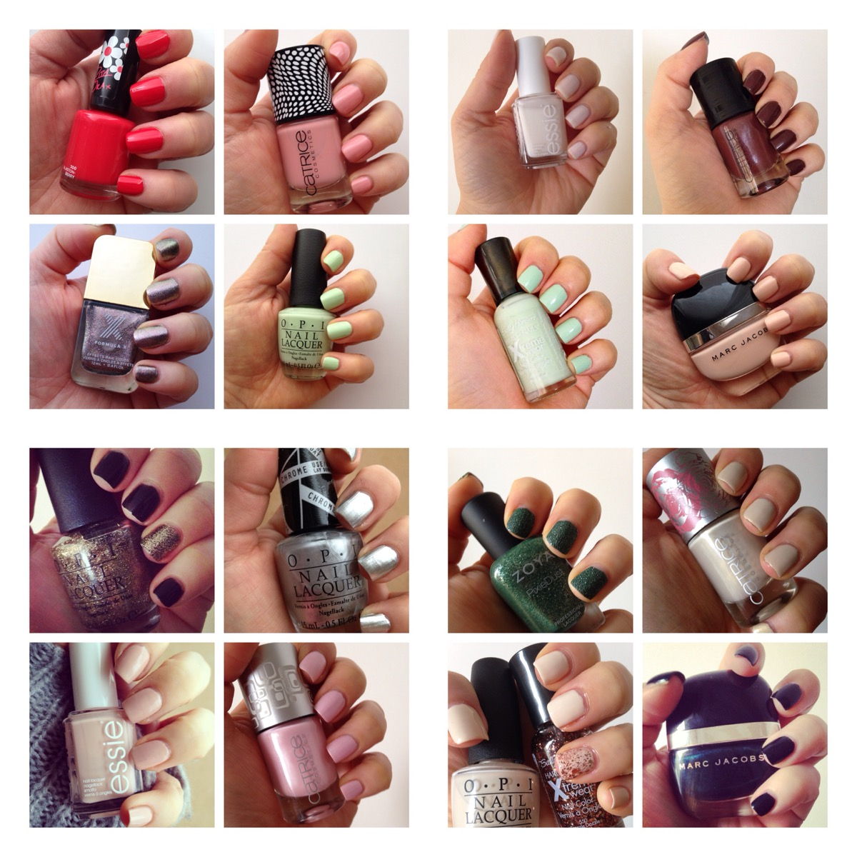 I confess: I\'m a nail polish addict. | Wrinkles And Heels