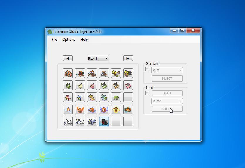 Pokémon Studio Injector by theSLAYER Screenshot4