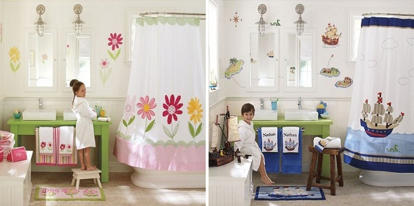 Tinas De Baño Recicladas:Bathroom Design Ideas for Older Kids
