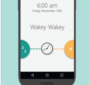 sveglia allarme android di microsoft