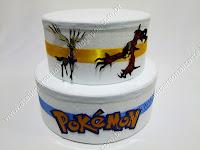 Bolo Cenográfico Pokémon Porto Alegre
