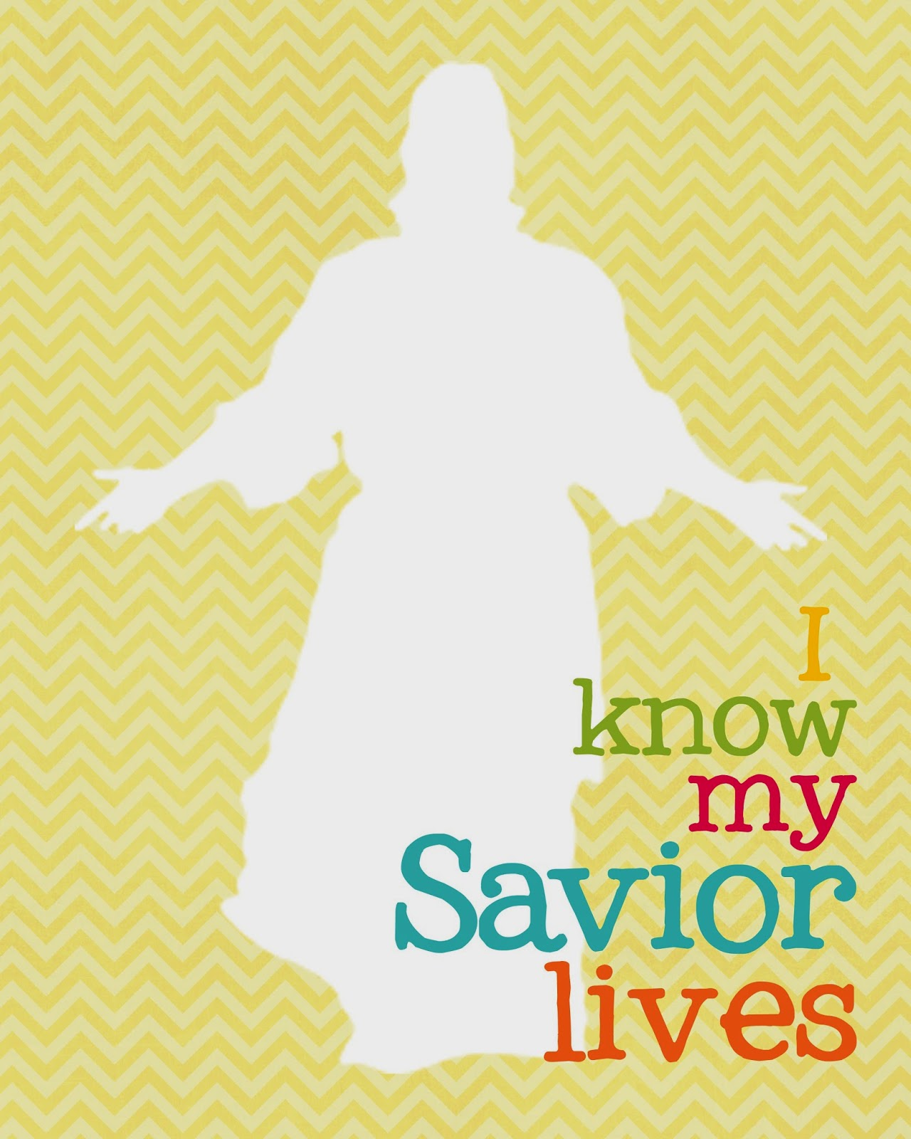 "Pocket full of LDS prints: 2015 Primary theme Freebies ""I know my ..."