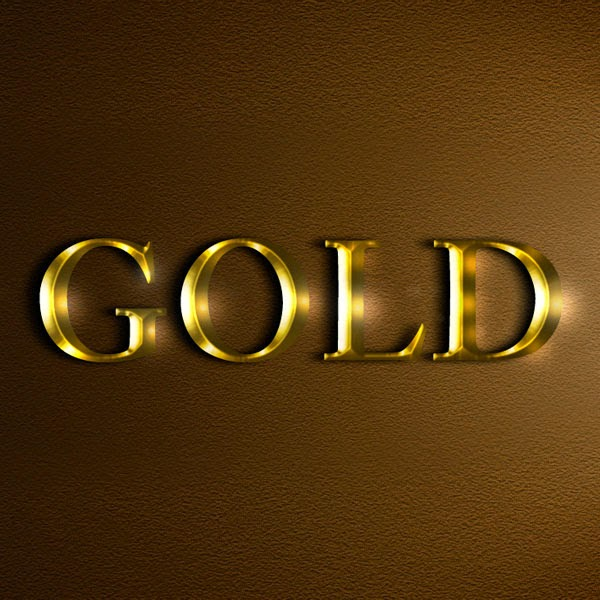 Create an Easy Realistic Gold Text Effect in Photoshop