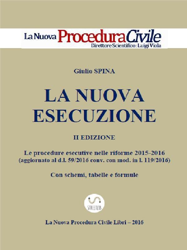 SPINA, LA NUOVA ESECUZIONE (II Edizione)