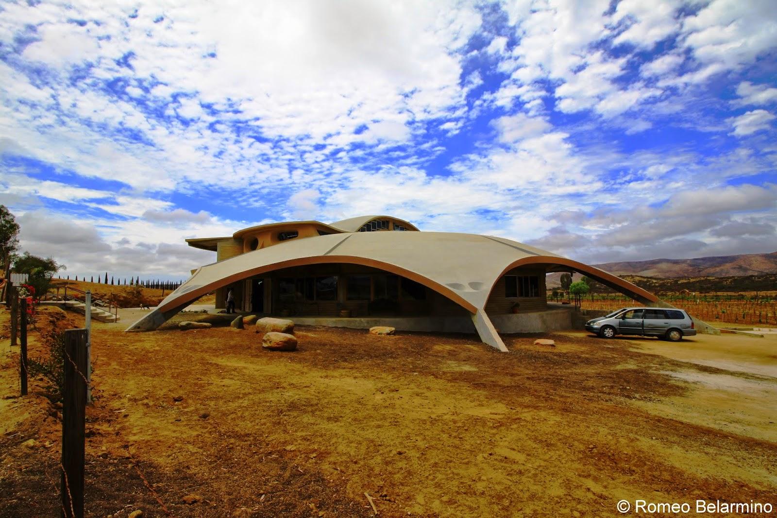 AlXimia and La Terrasse San Roman Building Valle de Guadalupe Baja California Mexico