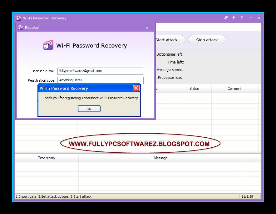 program to crack wifi password