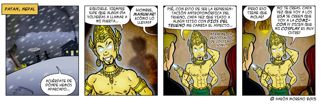 Diox-Men #013 Raiders of the Lost Manu