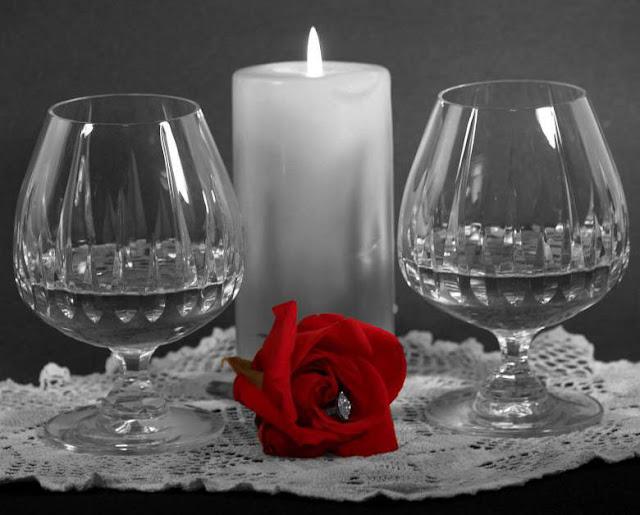 صورة وردة حمراء رومنسية وجميلة جدا