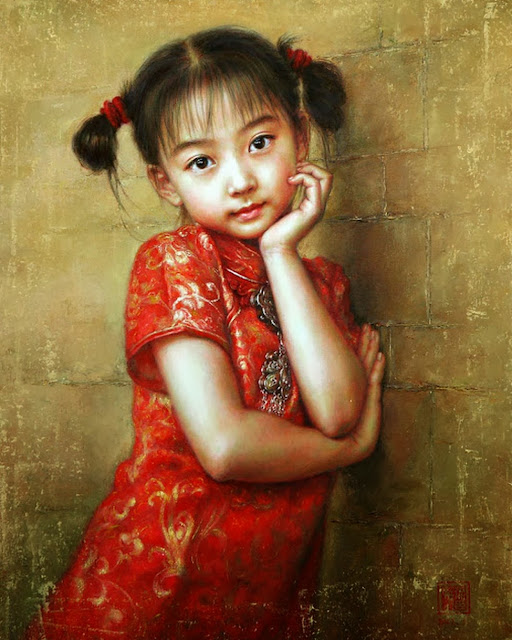 oleos-mujeres-chinas
