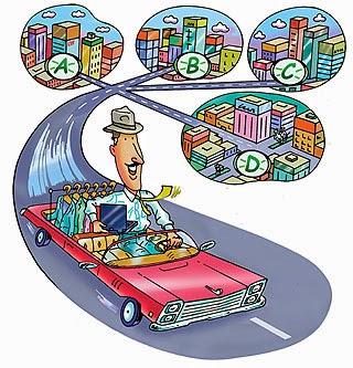 Hightech Science Resolving Travelling Salesman Problem