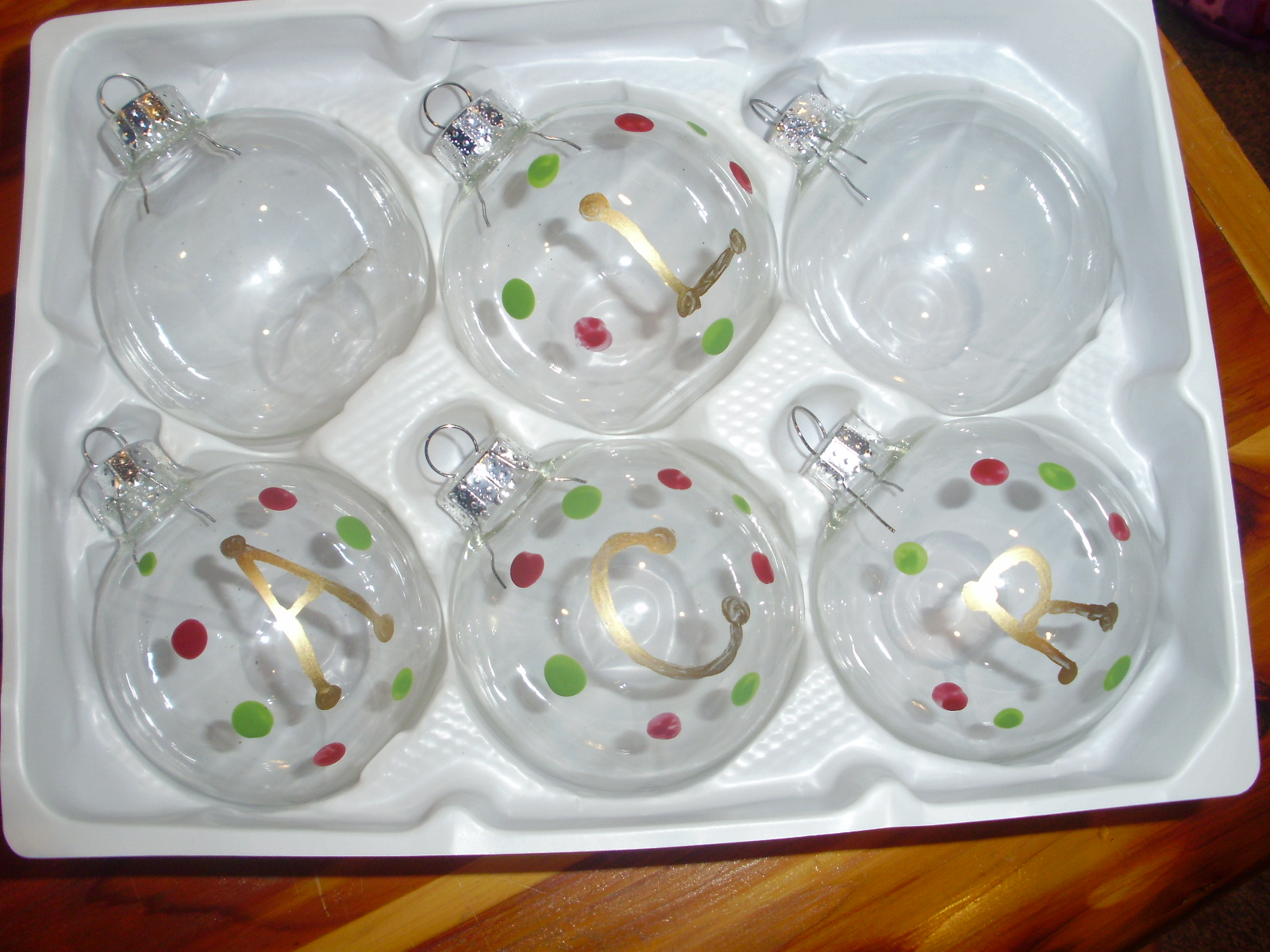 The mommy goods homemade christmas ornaments Homemade christmas bulbs