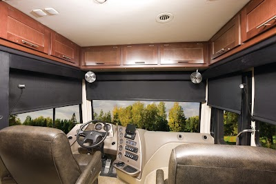 United Shade debuts three lines of RV roller shades for manufacturers and the aftermarket