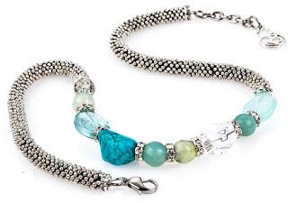 Handmade Jewelry Healing Beads Gemstone Necklace