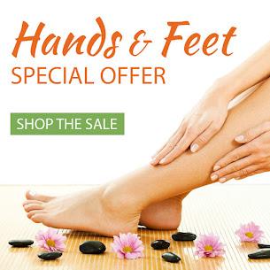15% Off on Hands & Feet Essentials