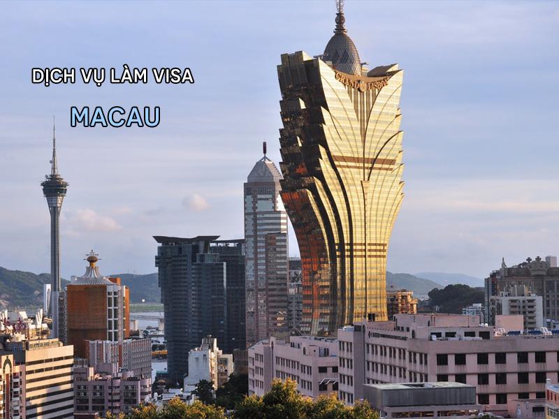 Làm visa đi Macau nhanh