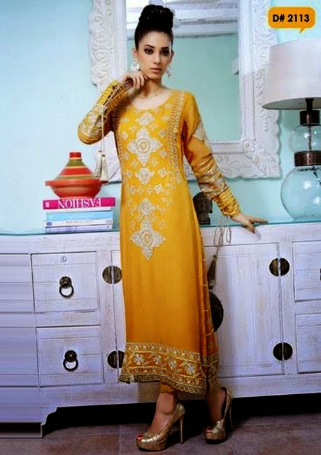 Formal Dresses Pakistan Fashion Needlez By Shalimar