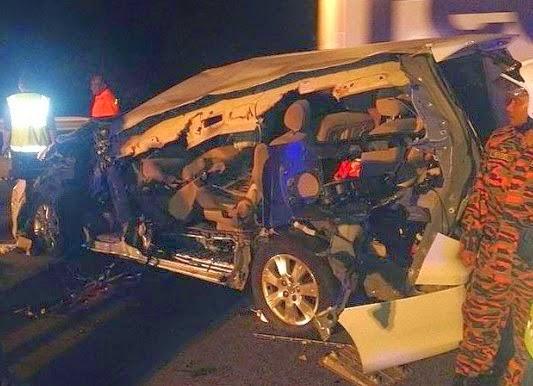 Karpal+Singh+Maut+Kemalangan+Jalan+Raya+tapah