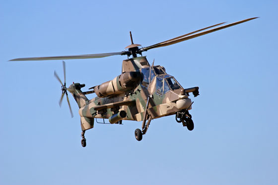 Denel AH-2 Rooivalk Attack Helicopters