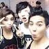 [PHOTO] 2NE1s MINZY with Mino & Seungyoon