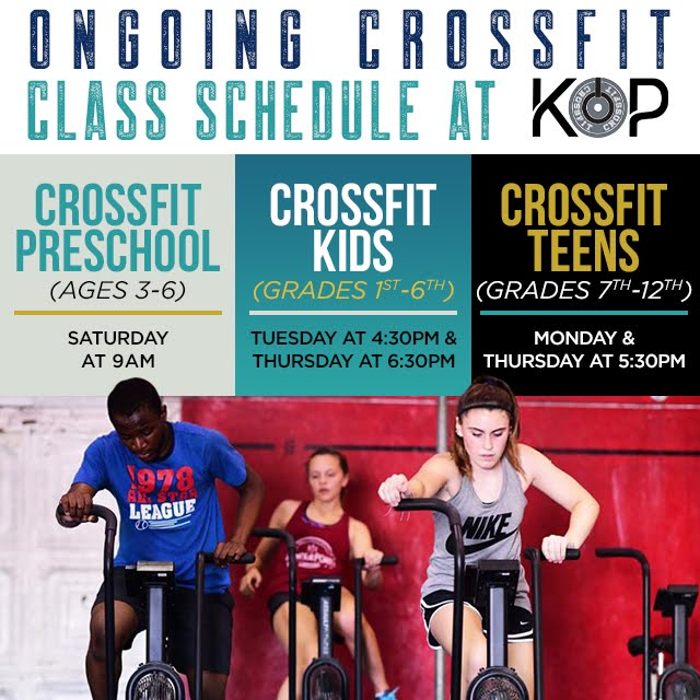 CrossFit Kids Schedule and Blog